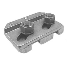 Weldable & Interlocking Crane Rail Clip: 9519