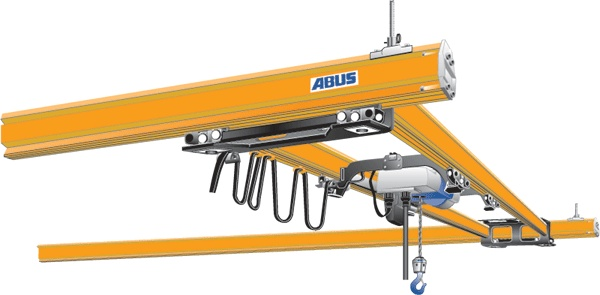 ABUS ZHB-X raised-up double girder crane