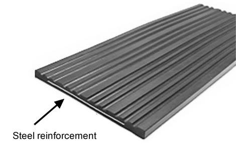 Steel Reinforced Crane Rail Pad