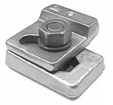 Weldable & Interlocking Crane Rail Clip: 9119