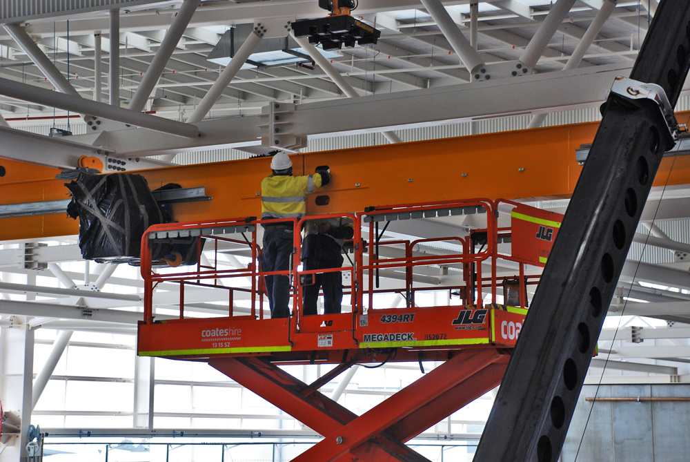 Overhead Cranes Perth : Manufacturers of overhead travelling cranes and explosion