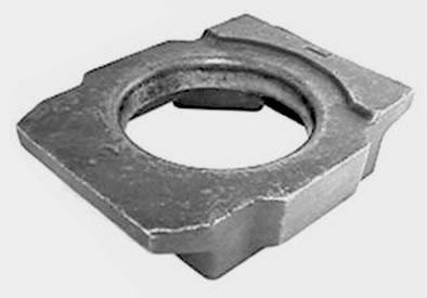 Welded Stud Crane Rail Clips clip body