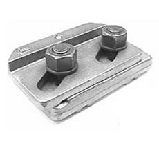 Weldable & Interlocking Crane Rail Clip: 9219