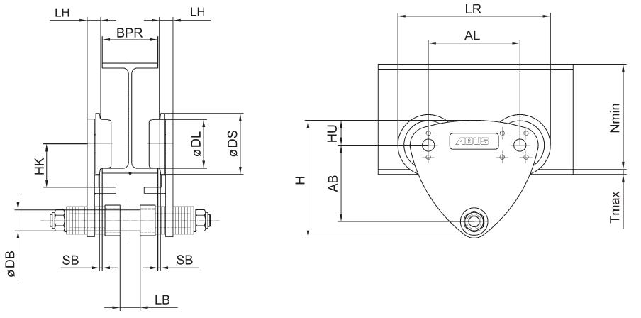 abus trolley motor wiring diagram