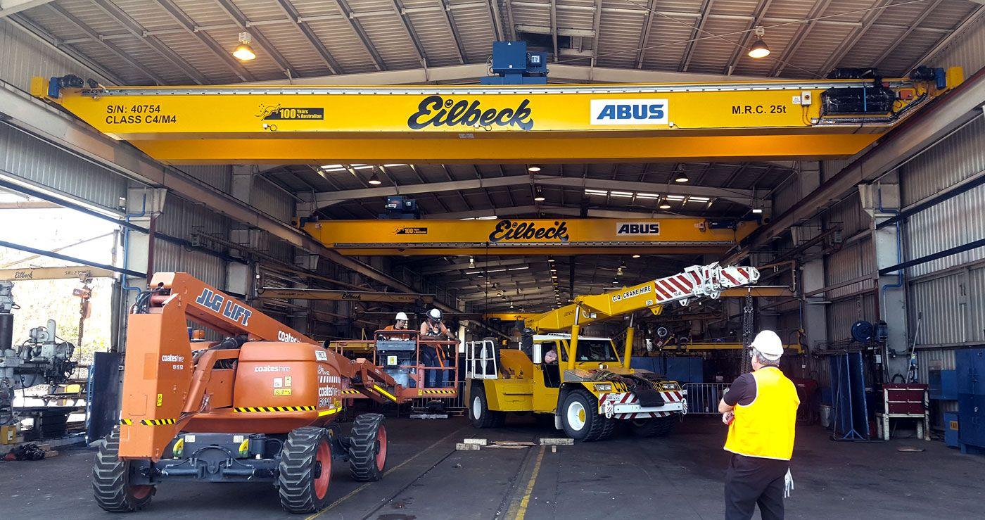 New Overhead Crane For Joy Global