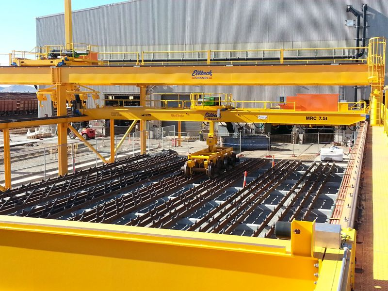 Overhead Cranes Perth : Overhead cranes for mile upgrade rsm