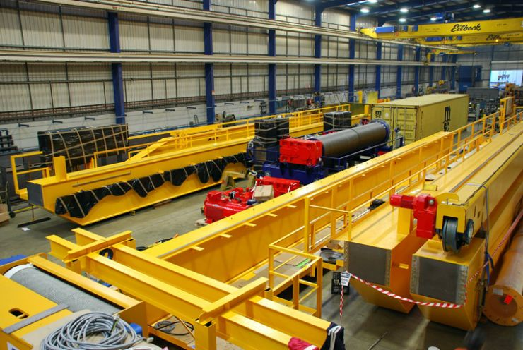 Overhead Cranes from Eilbeck Cranes