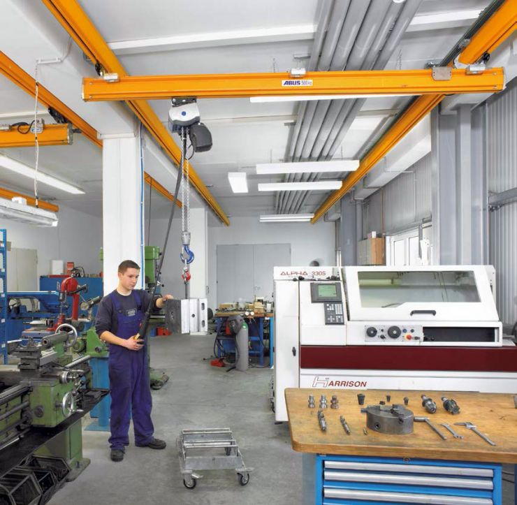 ABUS EHB single-girder crane